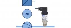 Drucksensor für Pumpenregelung