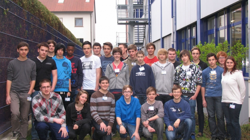 Schülerpraktikum Ostern 2012