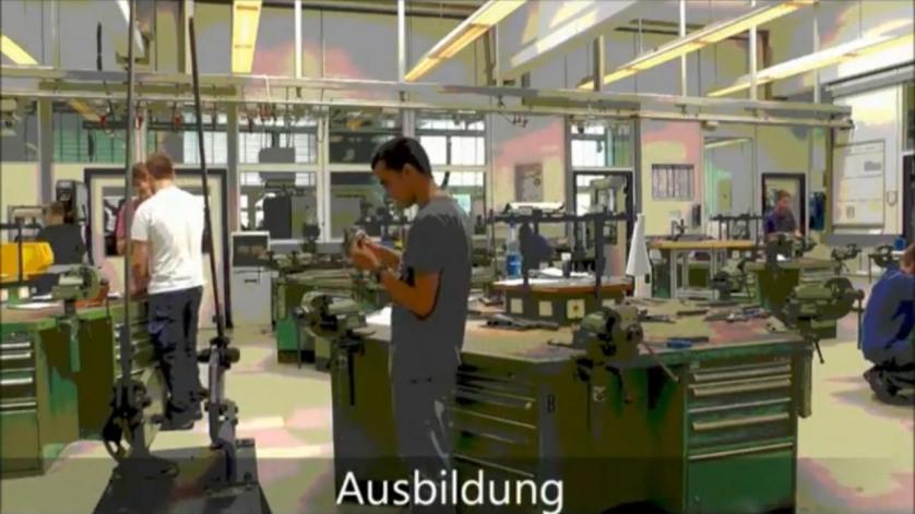 Bild Ausbildung Industriemechaniker