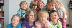 Kinder bei den Ferienspielen 2014