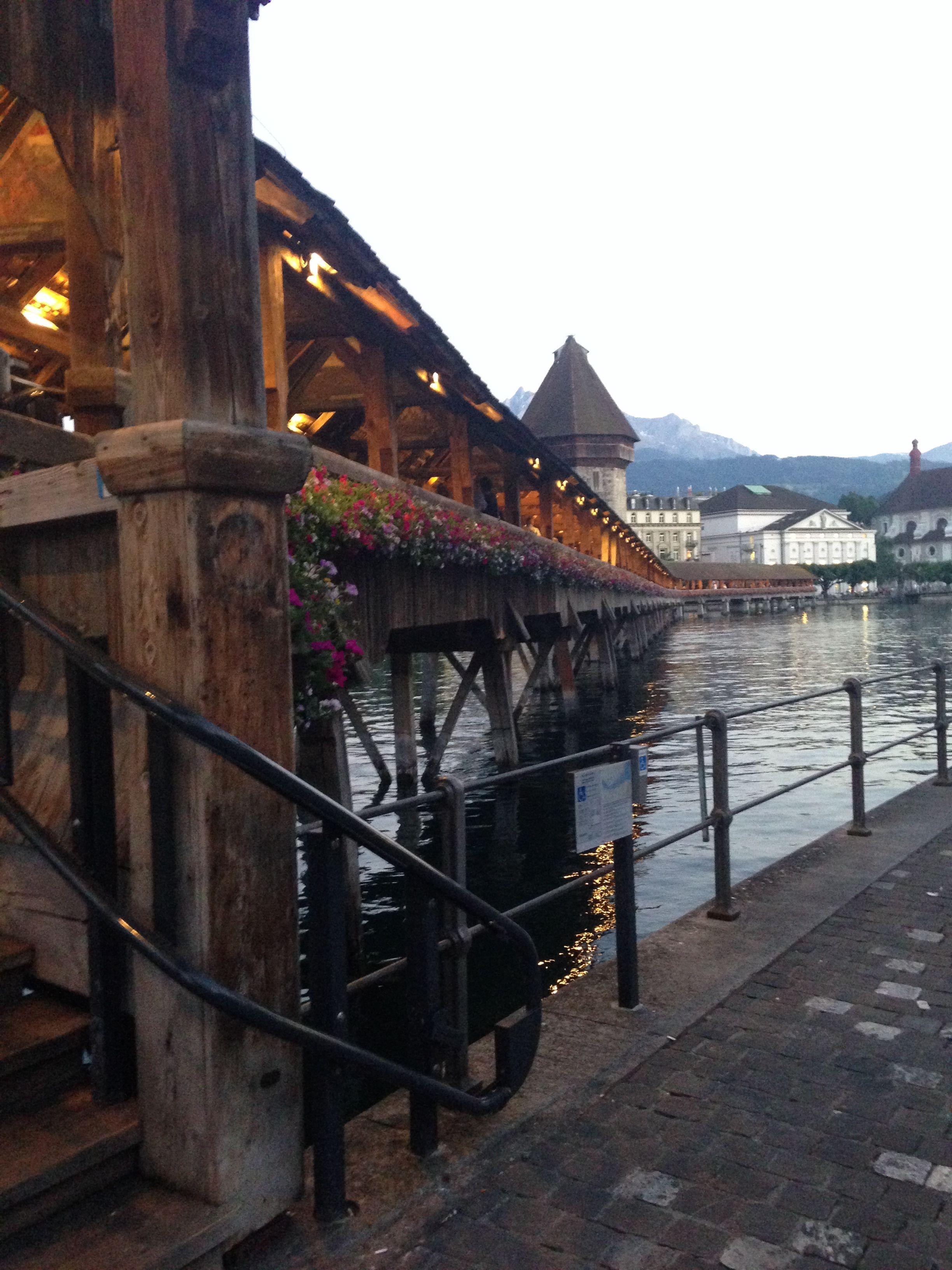 Kapellbruecke-Luzern
