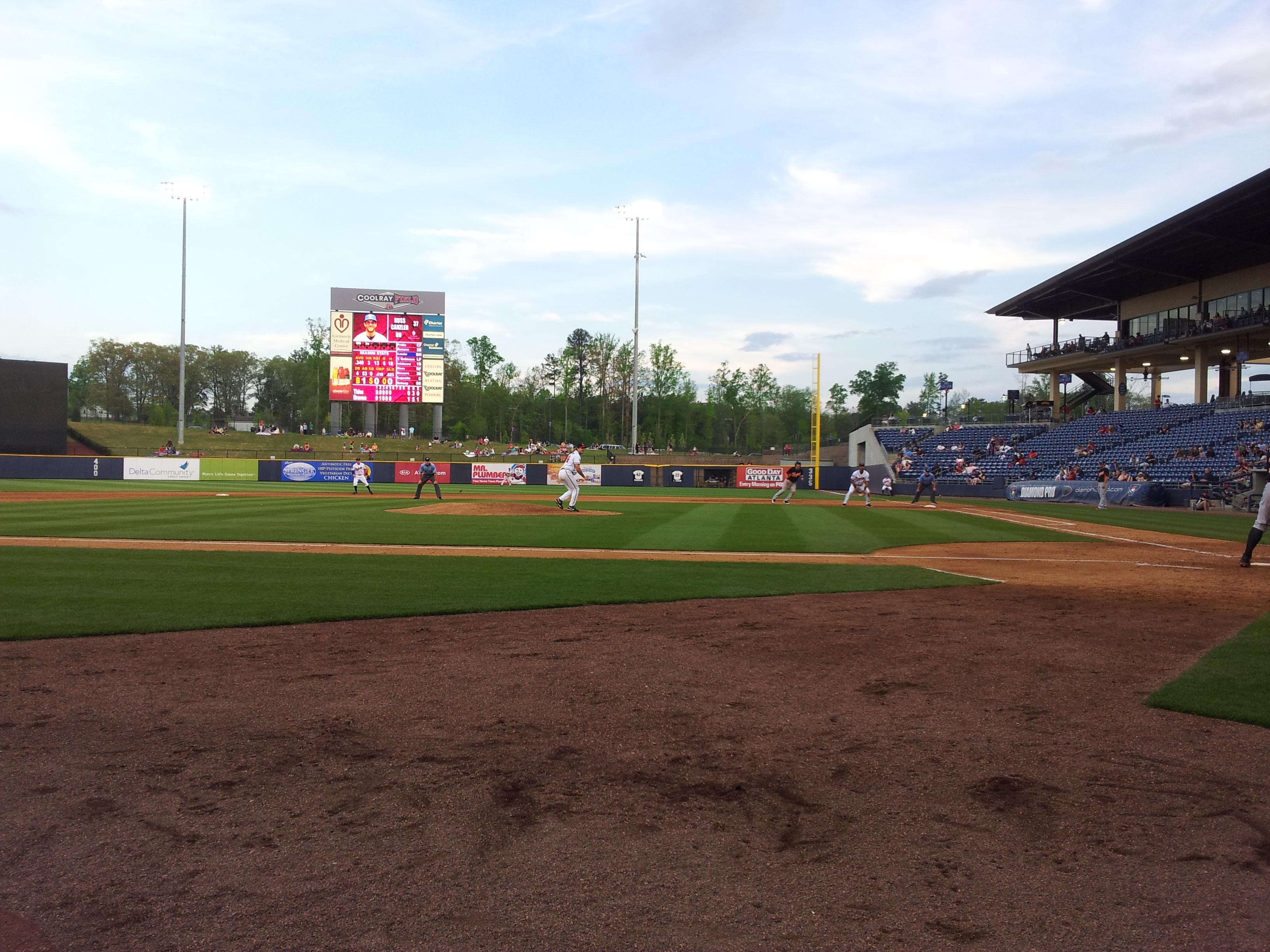 baseball-spiel