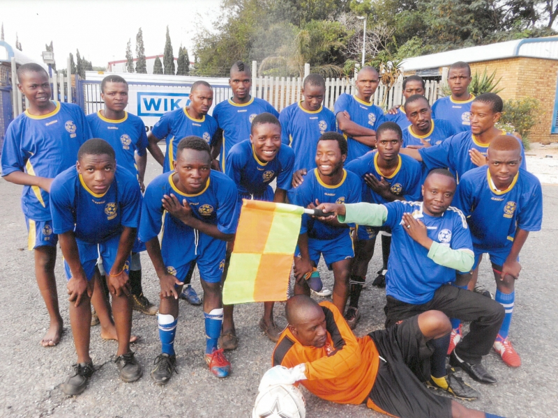 Mangolongolo Senior Soccer Team