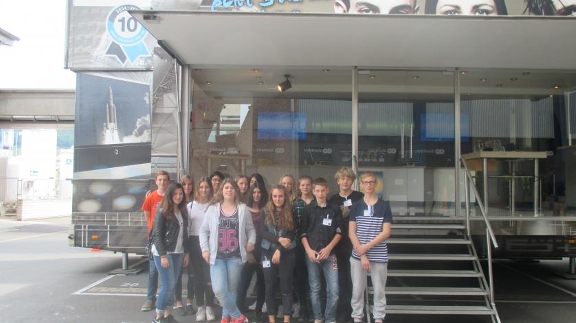 Schulklasse von der Mittelschule Elsenfeld