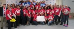 Aktion: Nahrung für hungernde Kinder