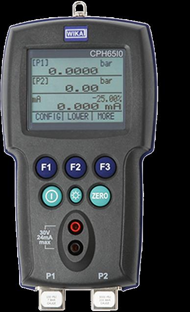 Eigensicherer Druckkalibrator Typ CPH65I0