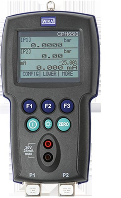 Intrinsically safe pressure calibrator model CPH65I0