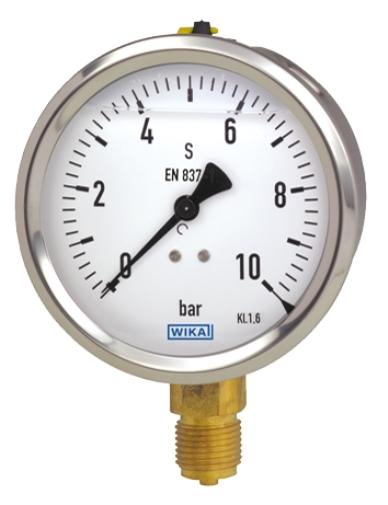 Manometr z płynnym wypełnieniem - model 213.53