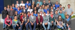 Gruppenfoto der Auszubildenden