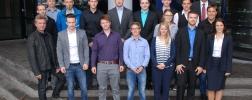 Gruppenbild der Absolventen 2015