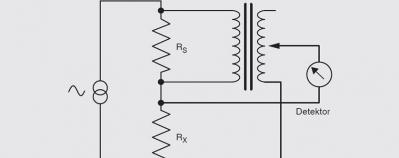 Funktionsweise Widerstandsmessbrücke