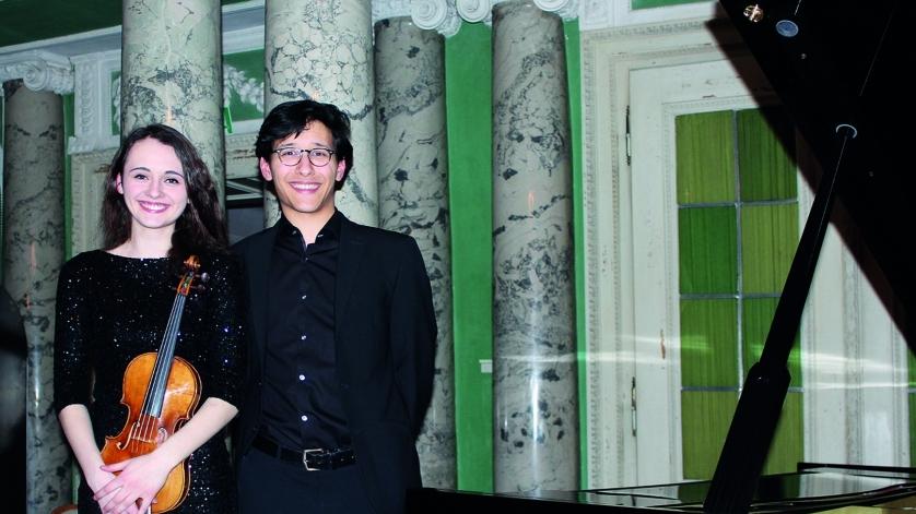 Anne Luisa Kramb und Nuron Mukumi