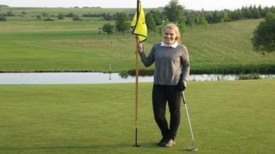 Golfen bei nicht allzu schönem Wetter