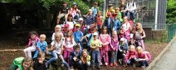Gruppenfoto - WIKA-Sommercamp 2016 - Opel Zoo