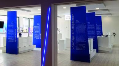 Frankreich Showroom