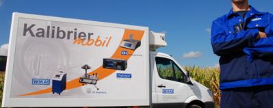 WIKA-Kalibriermobil - mobiler Kalibrierservice