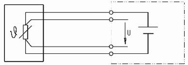 NTC/PTC in 4-Leiter-Schaltung