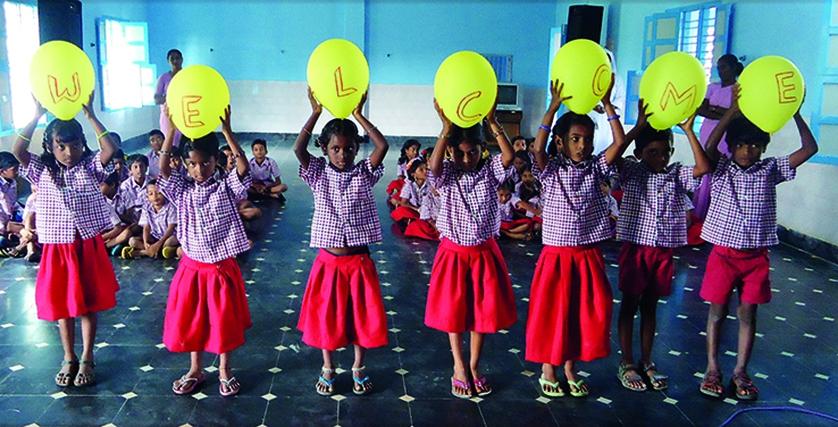 Jubiläum Boarding School Indien