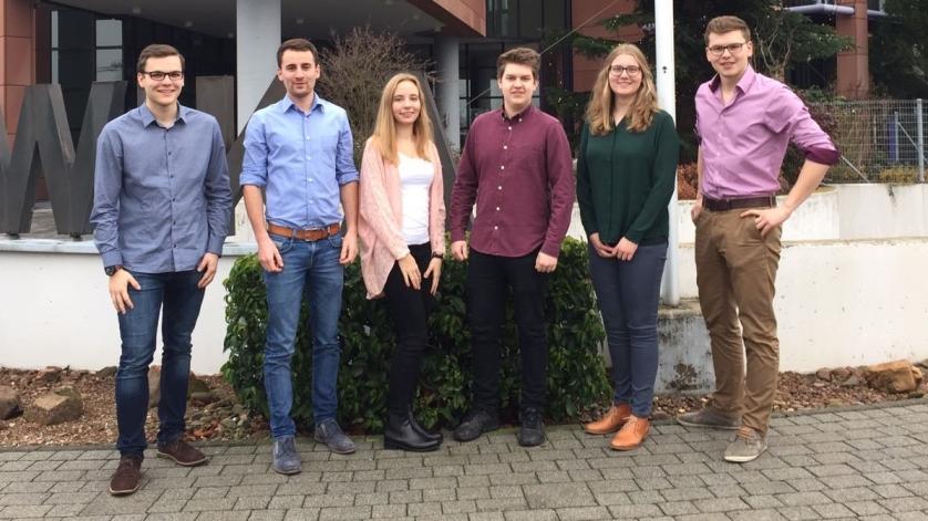 Teilnehmer des Studentenprojekts 2016