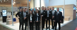 WIKA-Messestand der Hannover Messe 2017