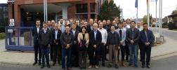 Gruppenfoto der CIGRE Meeting-Teilnehmer