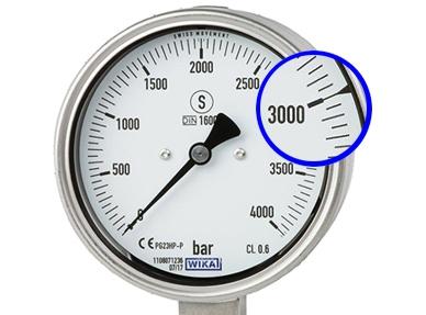 Hochdruckmanometer PG23HP-P