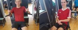 Gesundheitsprogramm im Fitnessstudio
