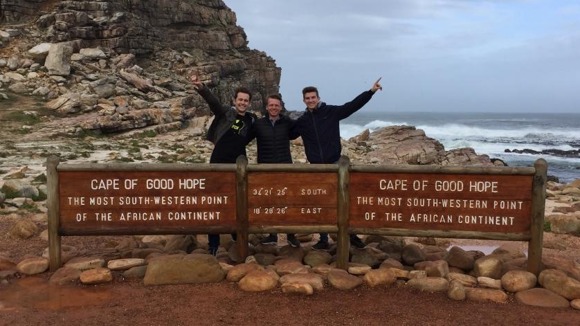 Niklas und Julian in Südafrika