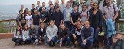 Gruppenfoto der Auszubildenden am Einführungstage 2018
