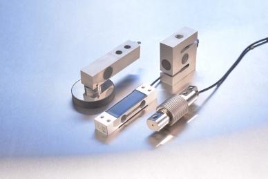 Die unterschiedlichen Ausführungsstufen von Kraftaufnehmern in der Wägetechnik: Scherstab, Biegestab, Single-Point- und S-Kraftaufnehmer.