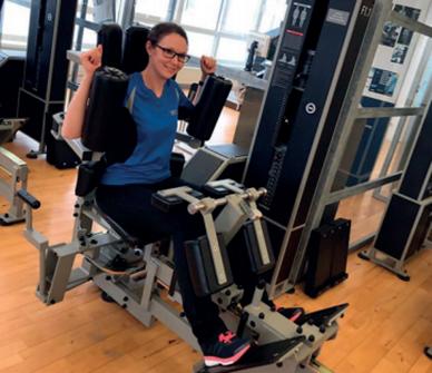 Trainingsgerät für die Beweglichkeit des Rumpfs