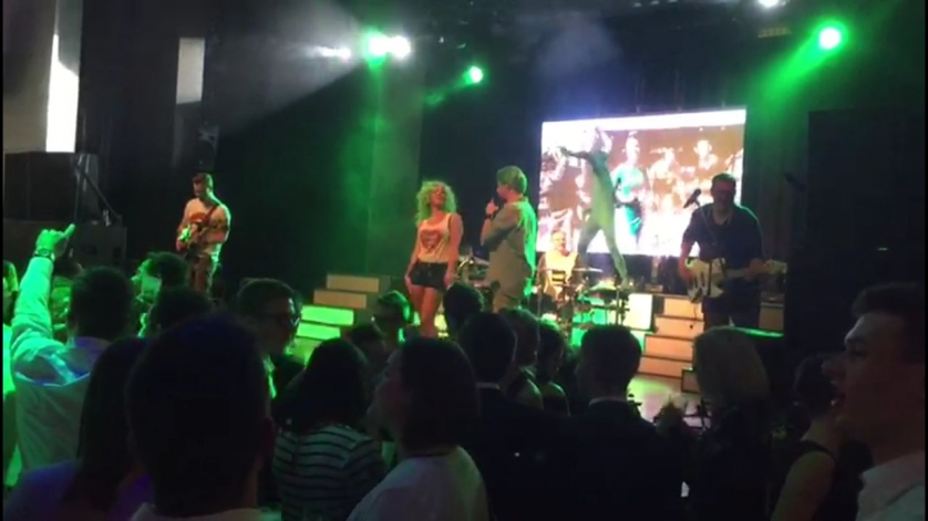 Die Band Xtreme am Bachelorball 2018