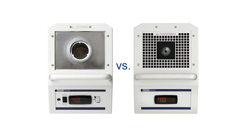 Unterschied zwischen Kalibrierbad und Blockkalibrator