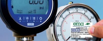 Kalibrierung Manometer