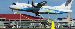 Kraftsensor in Flugzeugen